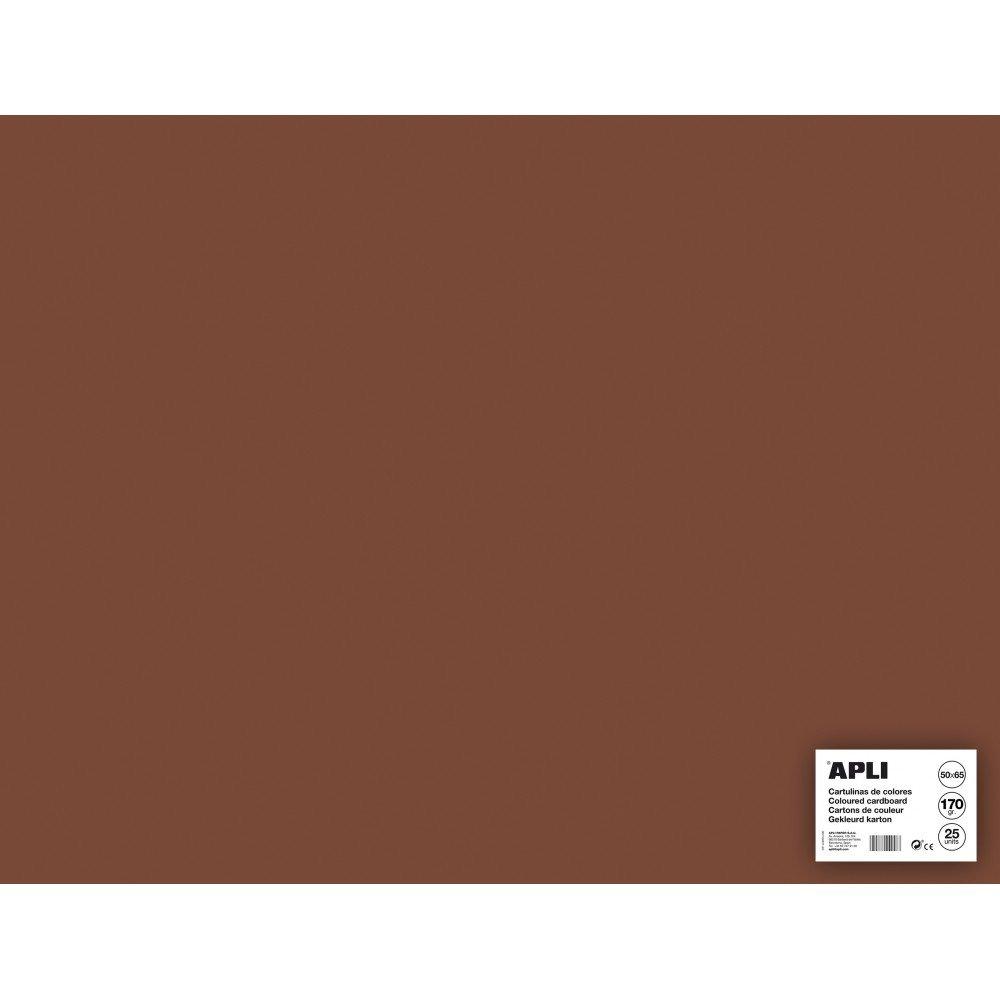 25 Hojas Cartulina 50x65cm Color...