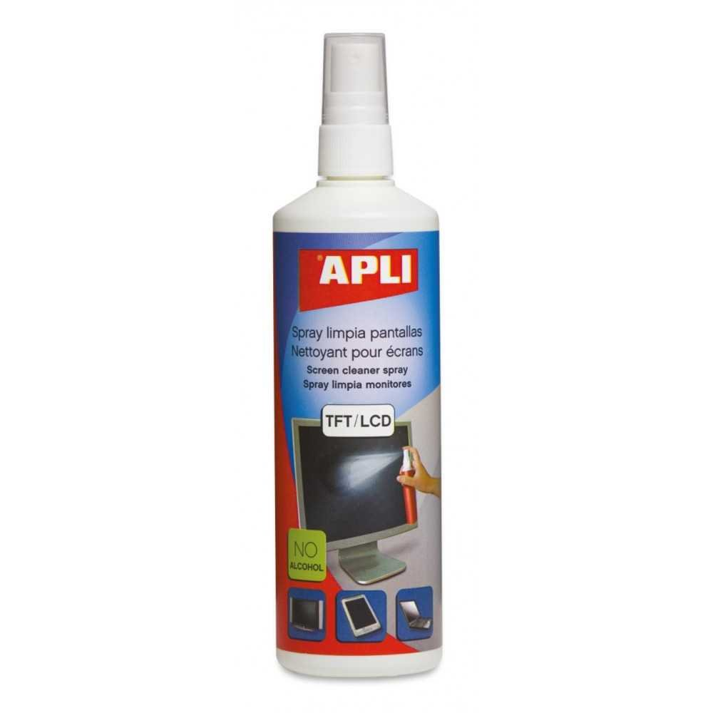 Spray Limpia Pantallas 250 ml Apli 11324