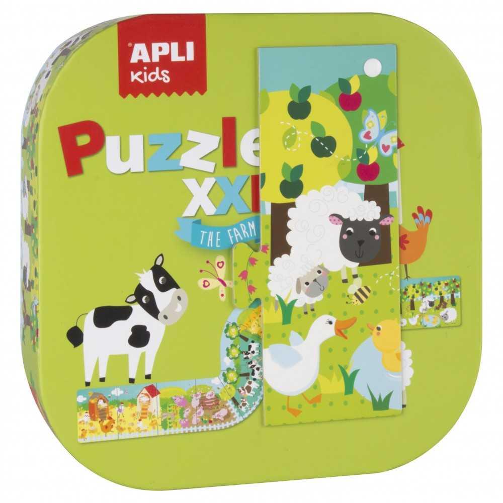 """Puzzle XXL Pîezas de 18.5 cm Alto """"La Granja"""" Apli Kids 16486"""