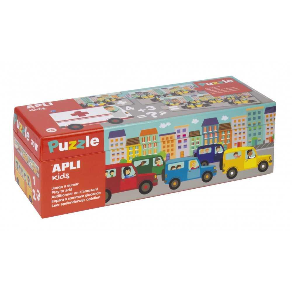 Puzzle 30 Piezas Aprender a Sumar Apli Kids 17196