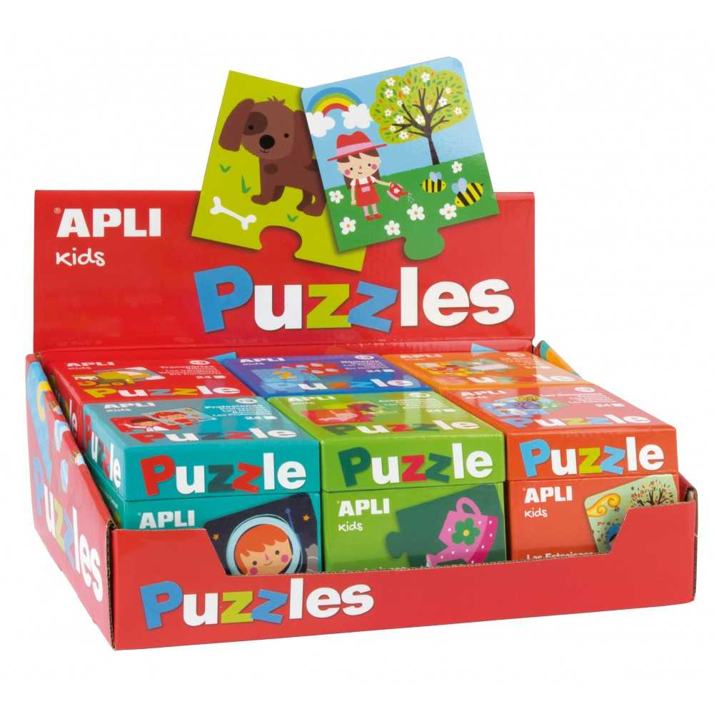 Pack 6 Puzles Apli Kids Educativos Apli 13334