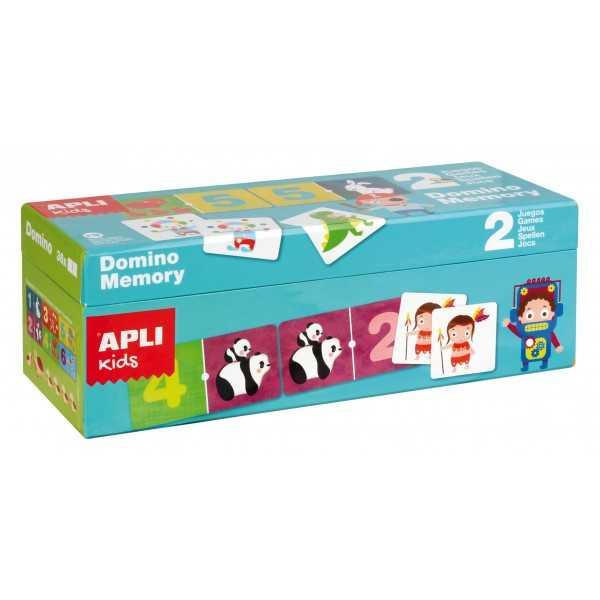 Caja Duo Domino + Memory Apli 14116
