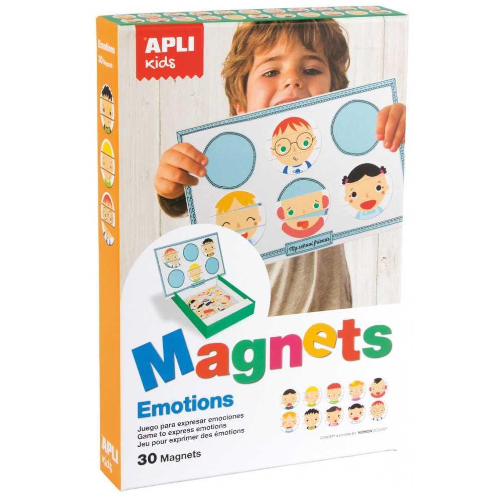 """Juego Magnetico Tematica """"Emociones"""" Apli 14803"""