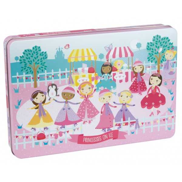 Puzle XL - Princesas sobre hielo Apli 16490