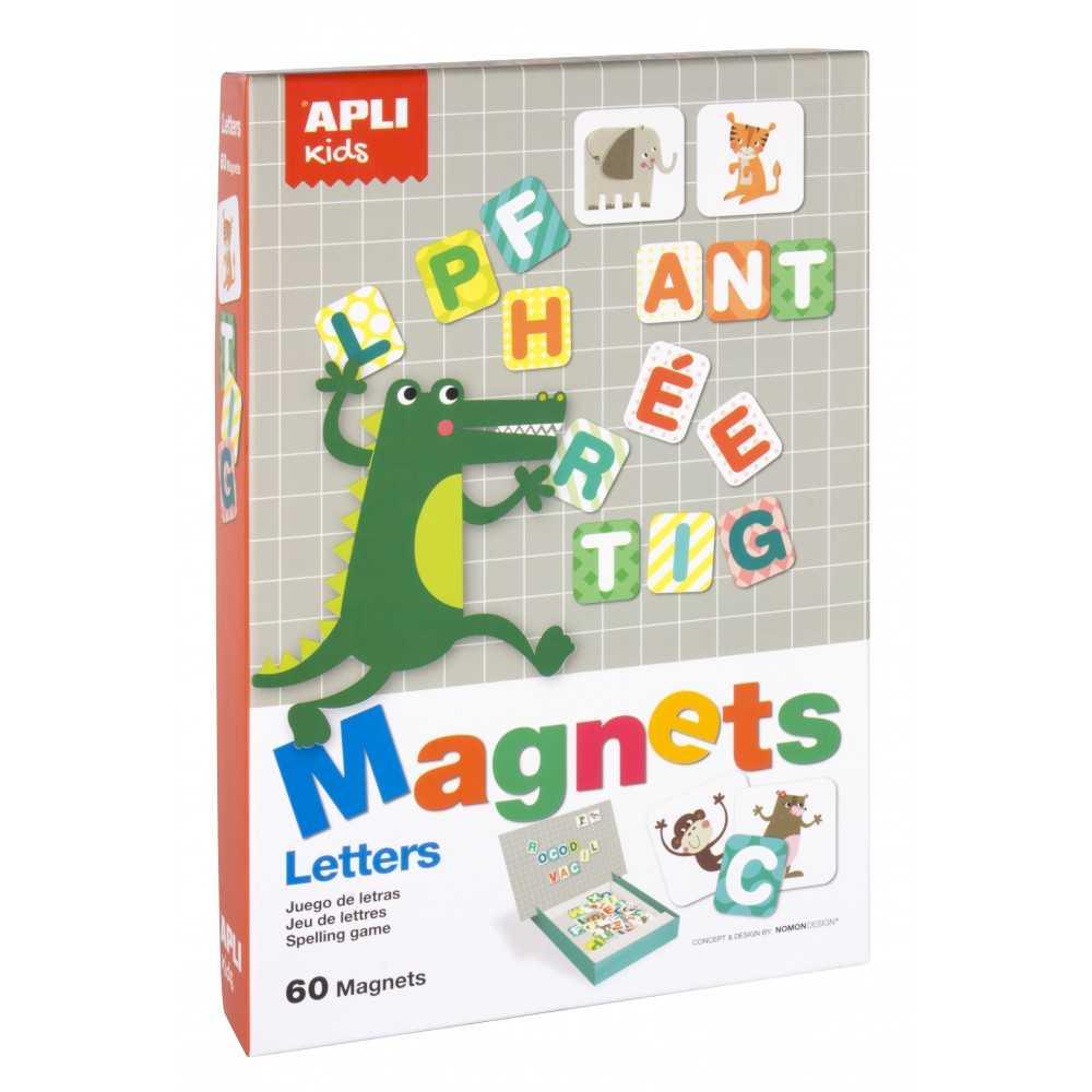 Juego Magnets Letras Apli Kids 16816