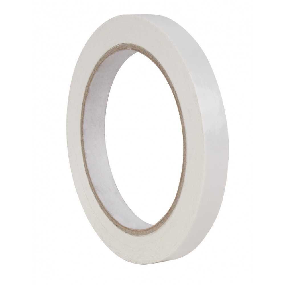 Cinta Adhesiva de Color Blanco 12mm x 66m Apli 17002 PS.COMPRAETIQUETAS.COM