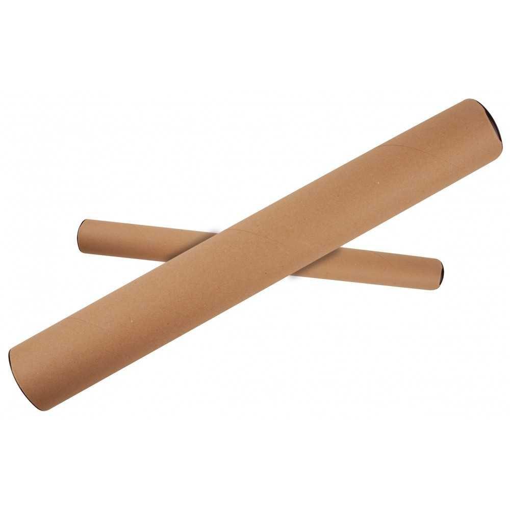 Tubo de cartón Para Envios 60x610x640mm Para Formatos A2/ A1 Apli 13144 compraetiquetas.com