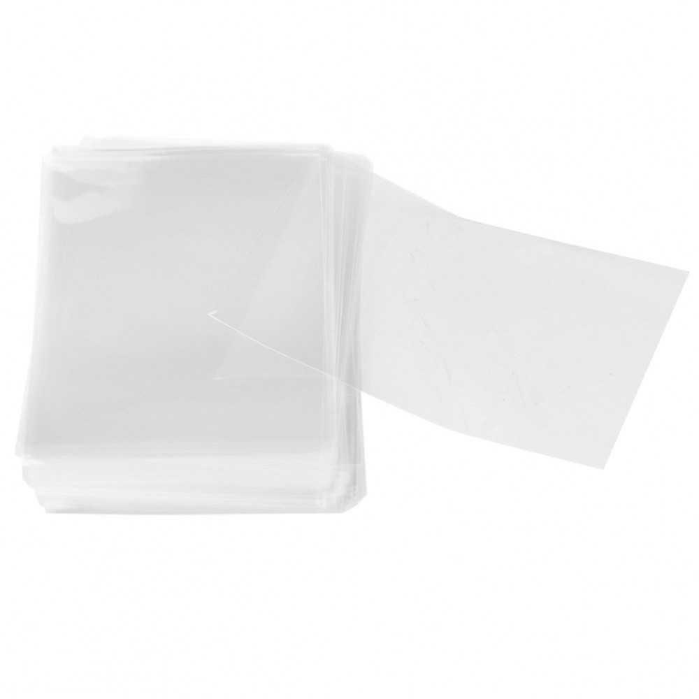 100 Bolsas de Polipropileno Transparente 60x80mm Apli 15001 compraetiquetas.com