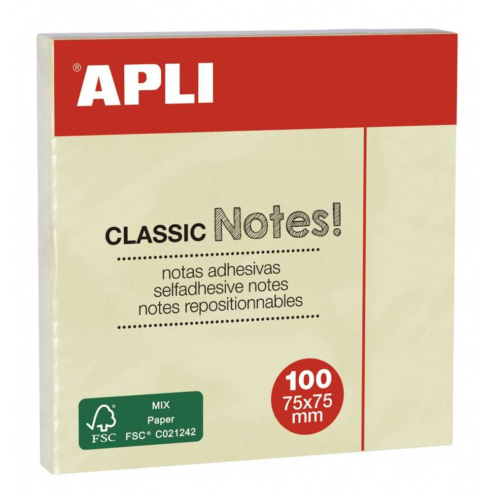 Notas adhesivas. Apli. 10975