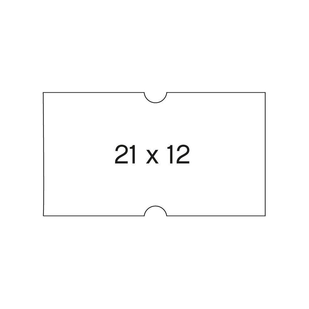 6 Rollos Etiquetas Precio 21x12mm Permanentes Apli 100910 compraetiquetas.com