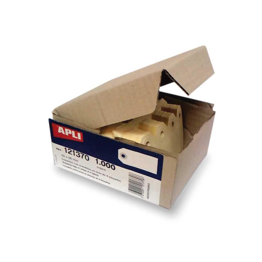 Etiquetas Manuales con Arandela 100 x 51 mm Apli 121374