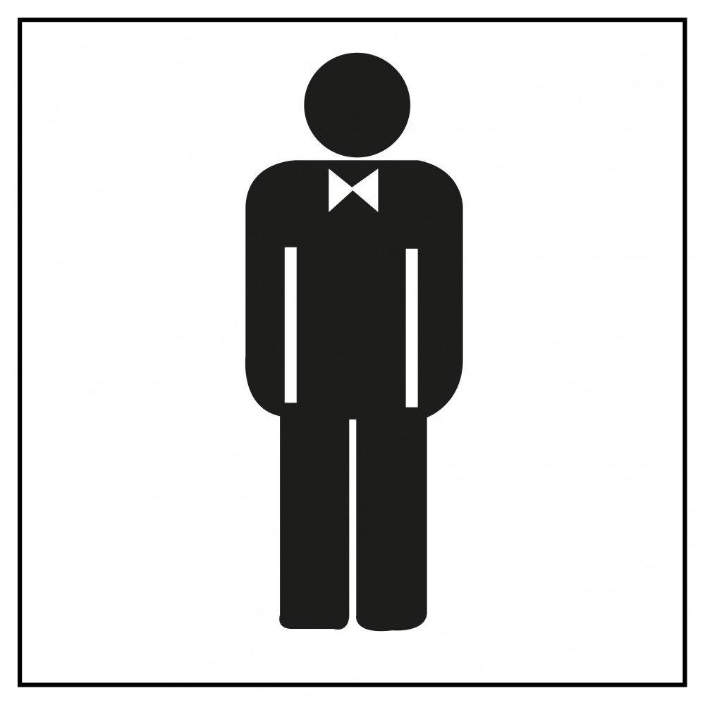 Etiquetas Señalización Lavabo Caballeros Apli 00836
