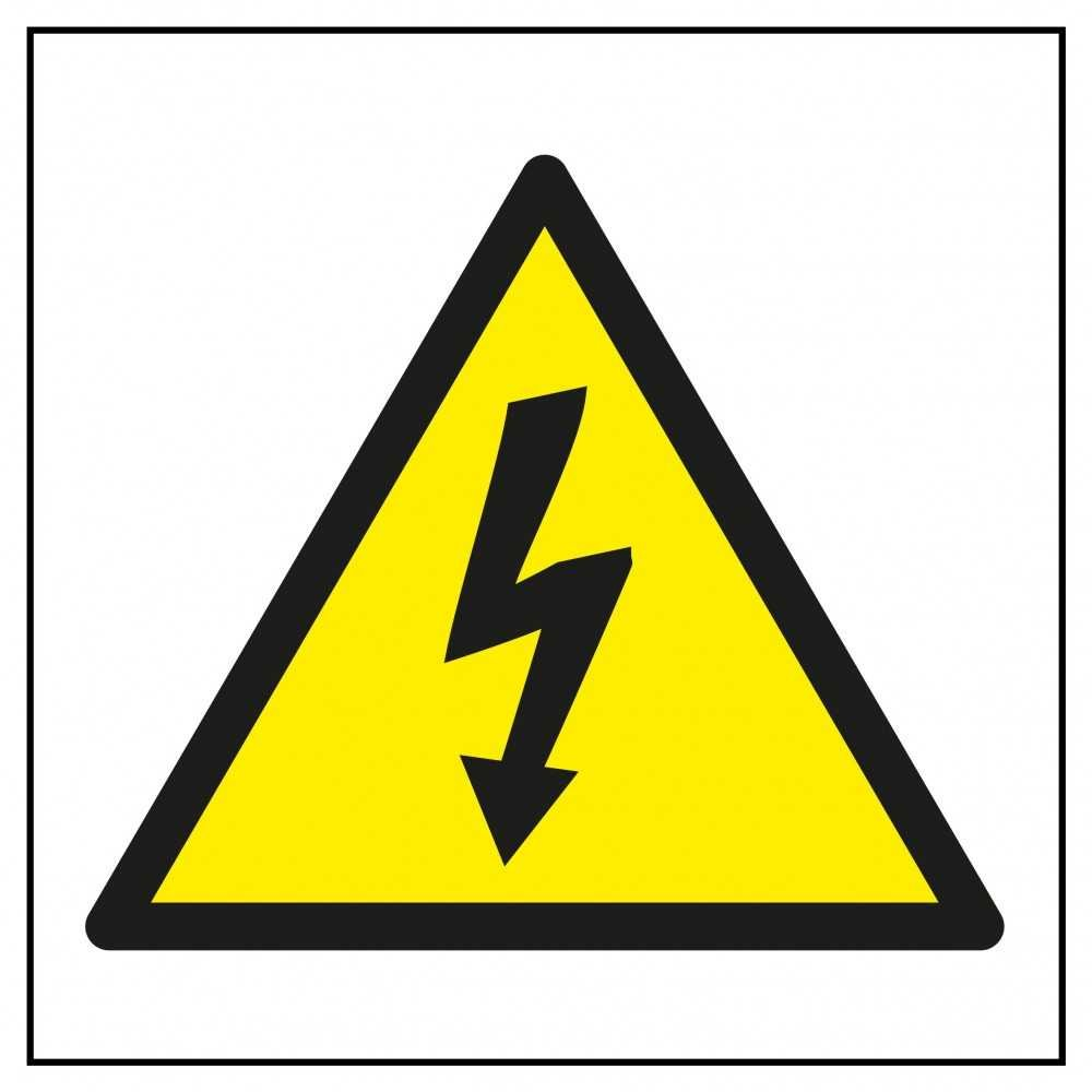 Etiquetas Señalización de Riesgo Eléctrico apli 10951