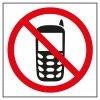 Etiquetas Señalización Prohibido Usar Teléfono Móvil Apli 00848