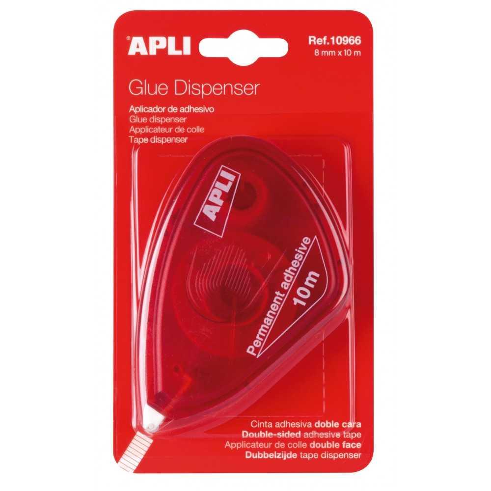 Dispensador Adhesivo Roller Doble Cara Apli 10966 compraetiquetas.com