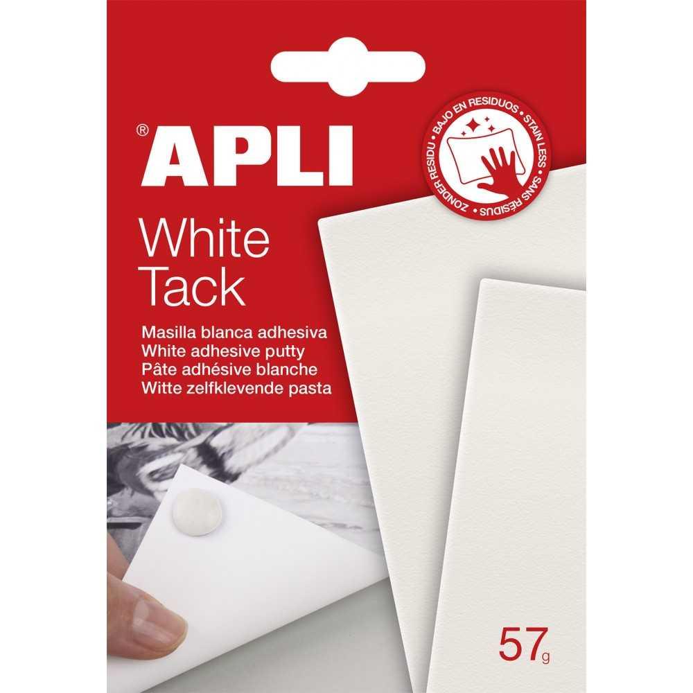 Masilla Adhesiva Apli Tack Color Blanco 57gr Apli 17061 compraetiquetas.com