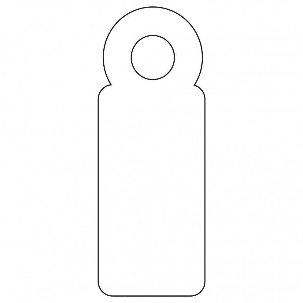 1000 Etiquetas Blancas Colgantes con Hilo 7 x 19 mm Apli 00383