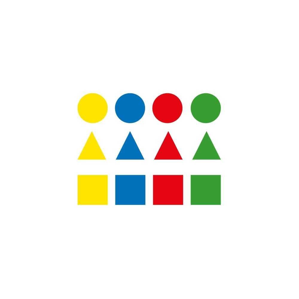 Bolsa Gomets Figuras Geométricas Grandes 12H Apli 00994