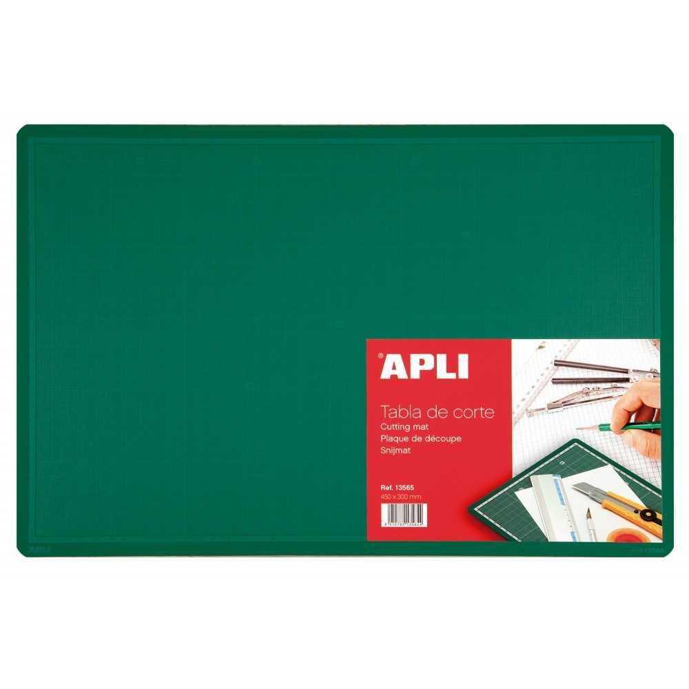 Tabla de corte PVC 450 x 300 mm (A3) Apli 13565 compraetiquetas.com