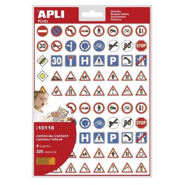 4H de Gomets Permantes Señales Tráfico Apli 10116