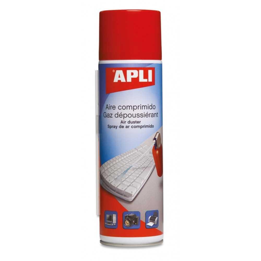 Bote de Aire Comprimido Inflamable 400ml Apli 11307