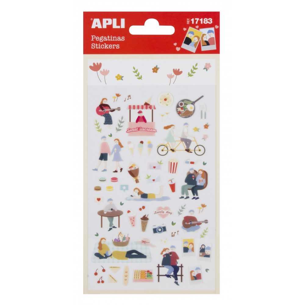 Stickers- Tiempo de ocio Apli 17183
