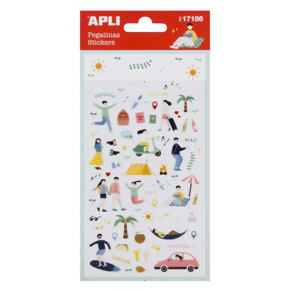 Stickers - Vacaciones Apli 17186