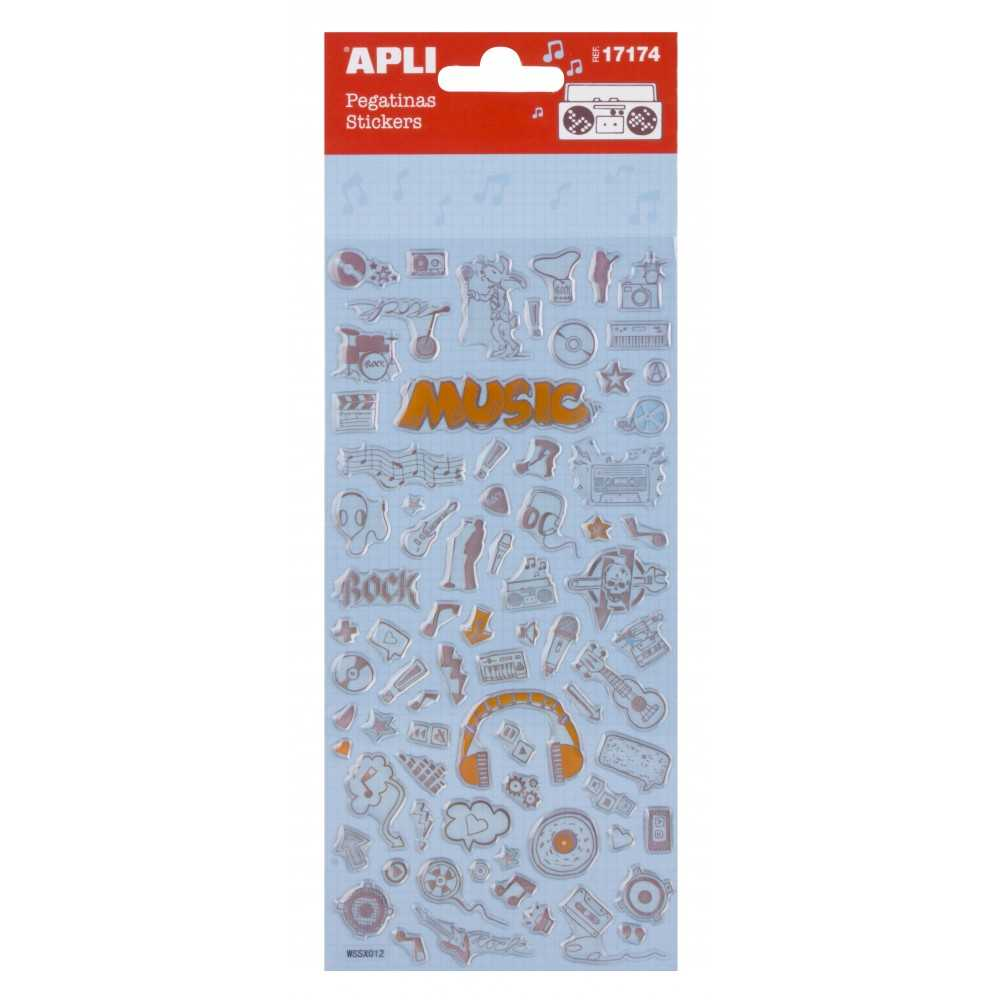 Stickers - Música Apli 17174