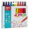 Caja Rotuladores de Colores Jumbo Apli 16804