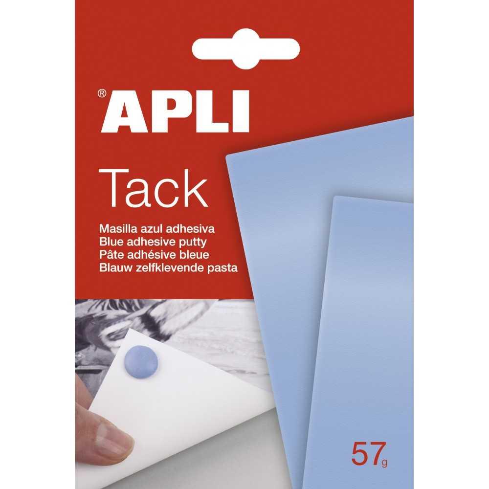 Masilla Adhesiva Apli Tack Azul 57gr Apli 11703