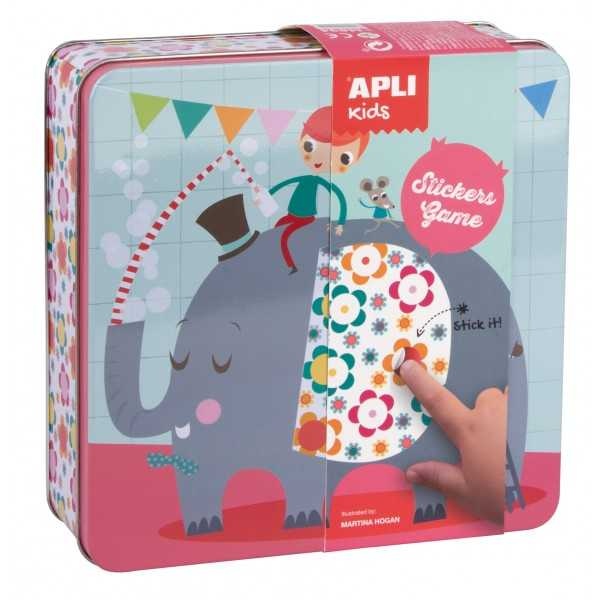 Juego Gomets Caja Elefante APLI 4534