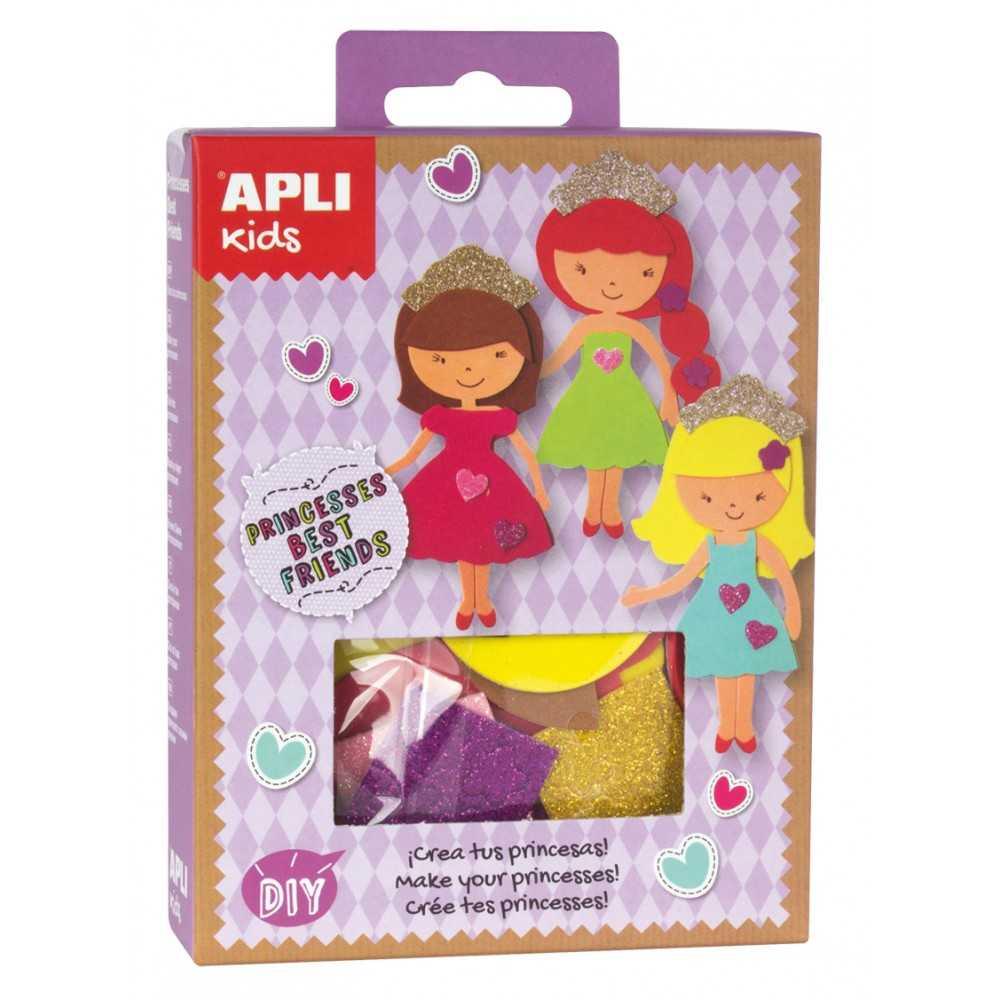 Mini Kit Princesas best friends Apli 14713