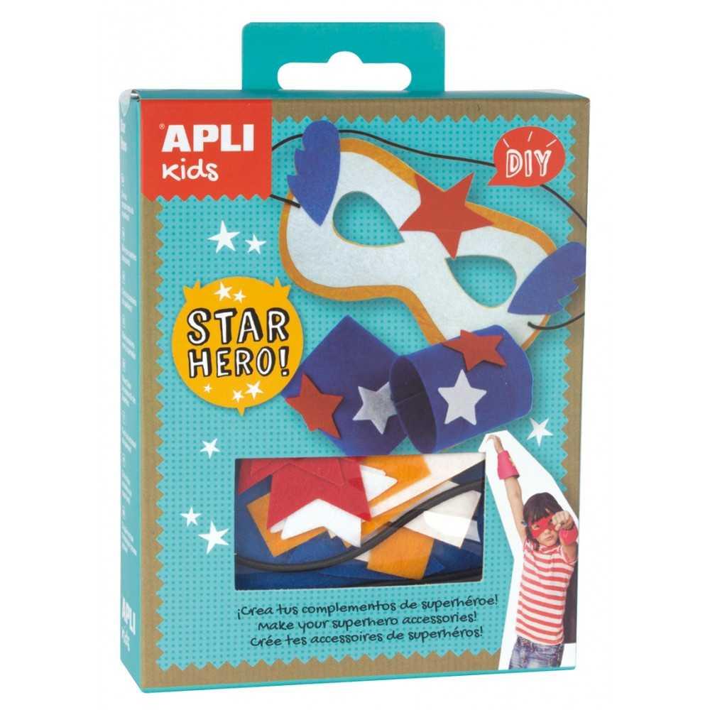 Mini Kit Máscara superhéroe AM/BL APLI 14717
