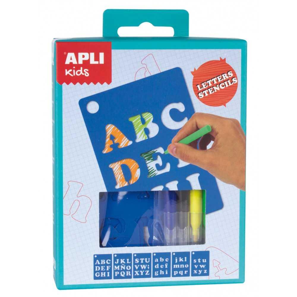 Mini Kit Plantillas letras Apli 14720