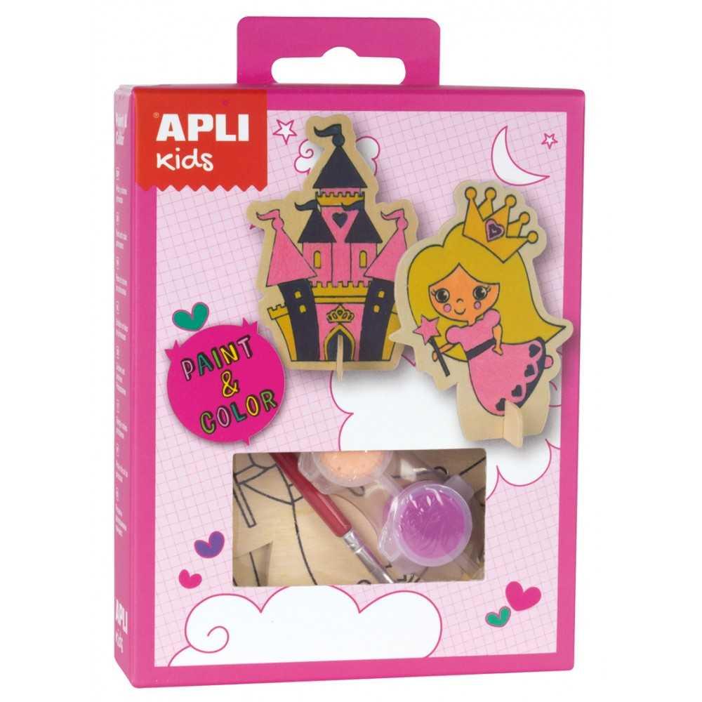 Mini Kit Pinta Princesas Apli 14711