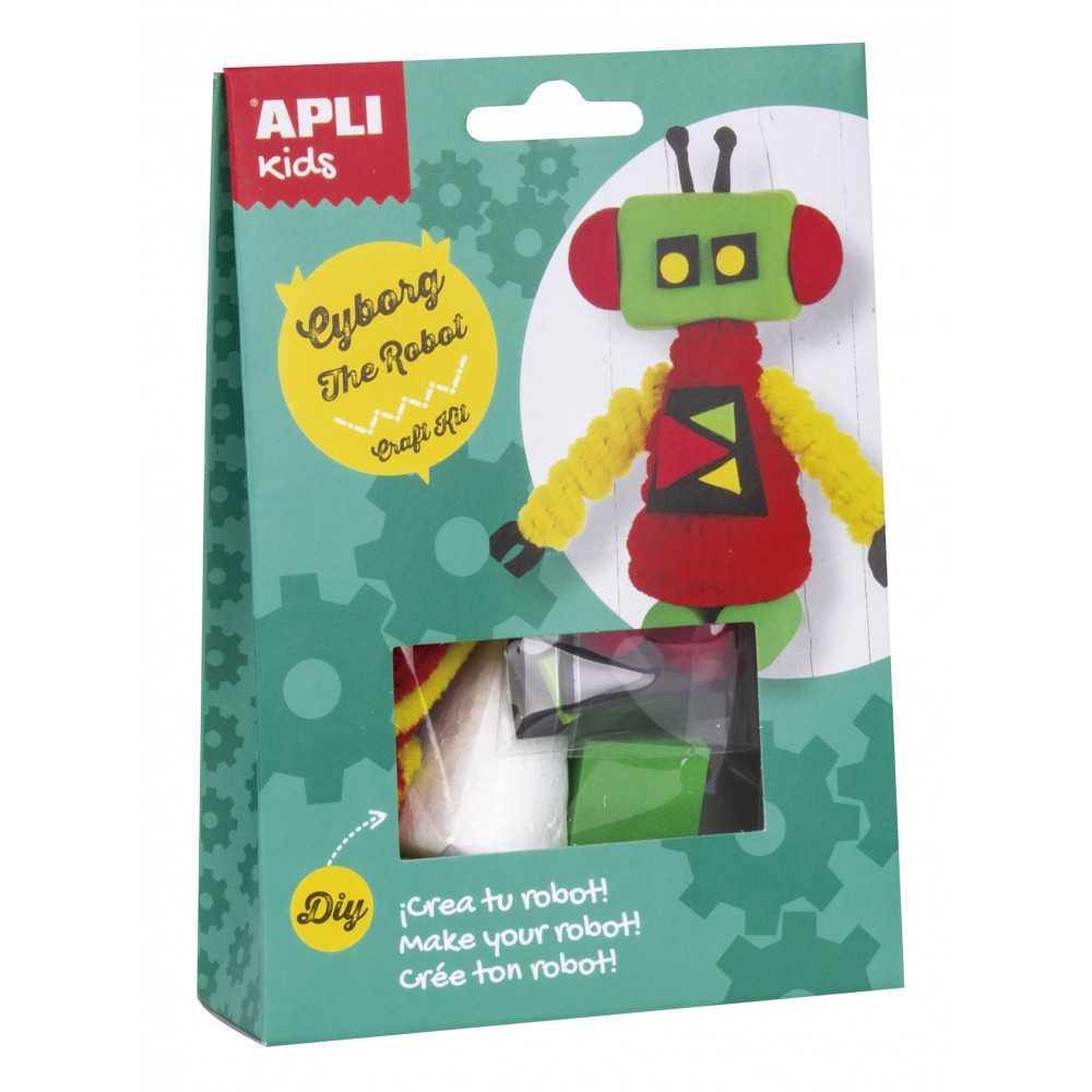 Craft Kit Cyborg Robot Apli 14704