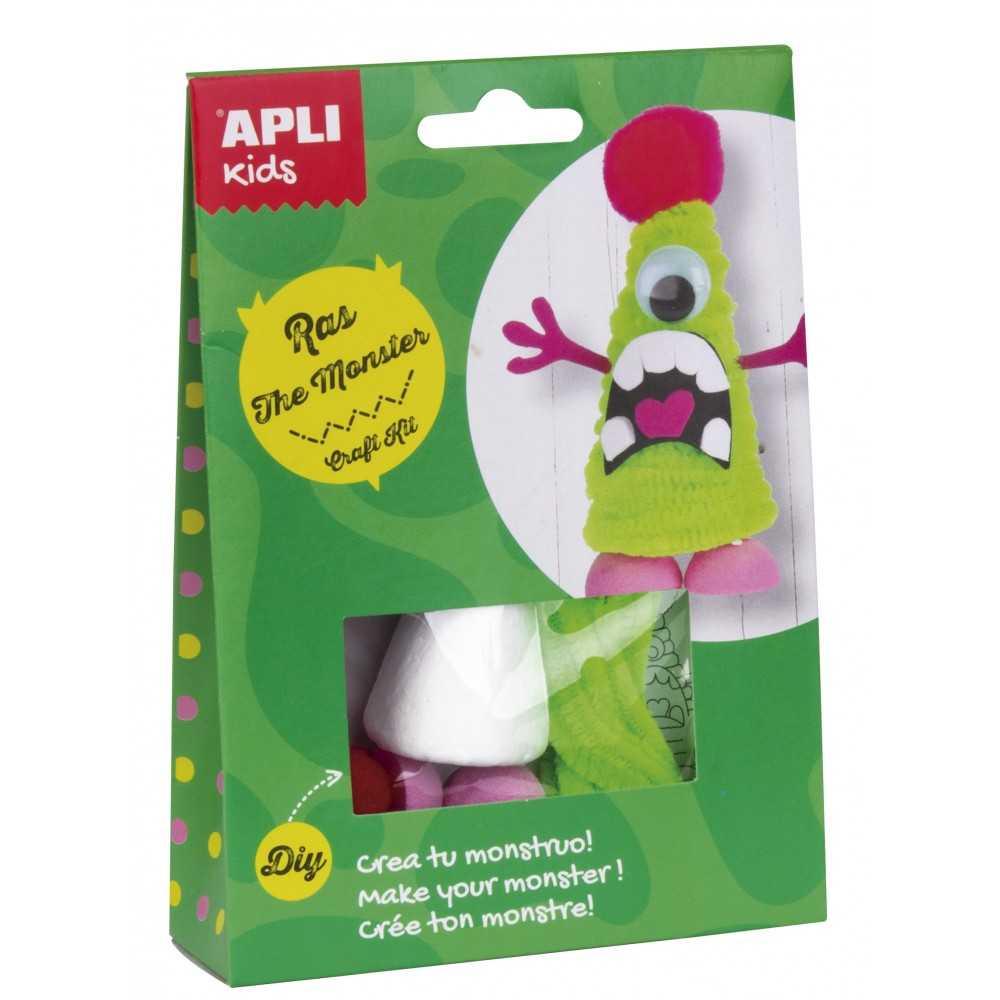 Kit Manualidad crea tu propio Monstruo Verde Apli 14706