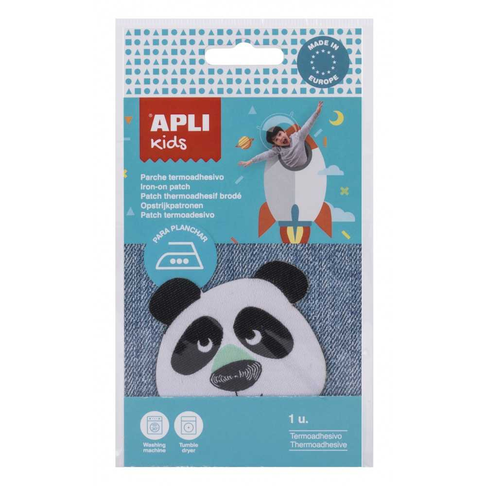 "Parches Para La Ropa Termo Adhesivos Infantiles ""Panda"" Apli 17798"