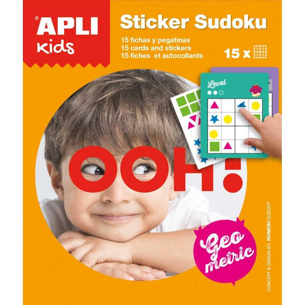 2 Juegos Pegatinas Stickers Juego Sudoku Apli 14816