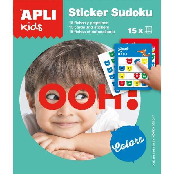 Expositor de stickers sudoku. Apli. 14816