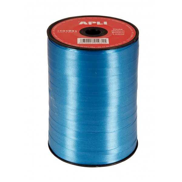 Cinta de Regalo Color Azul 7mm x 250m Apli 101931