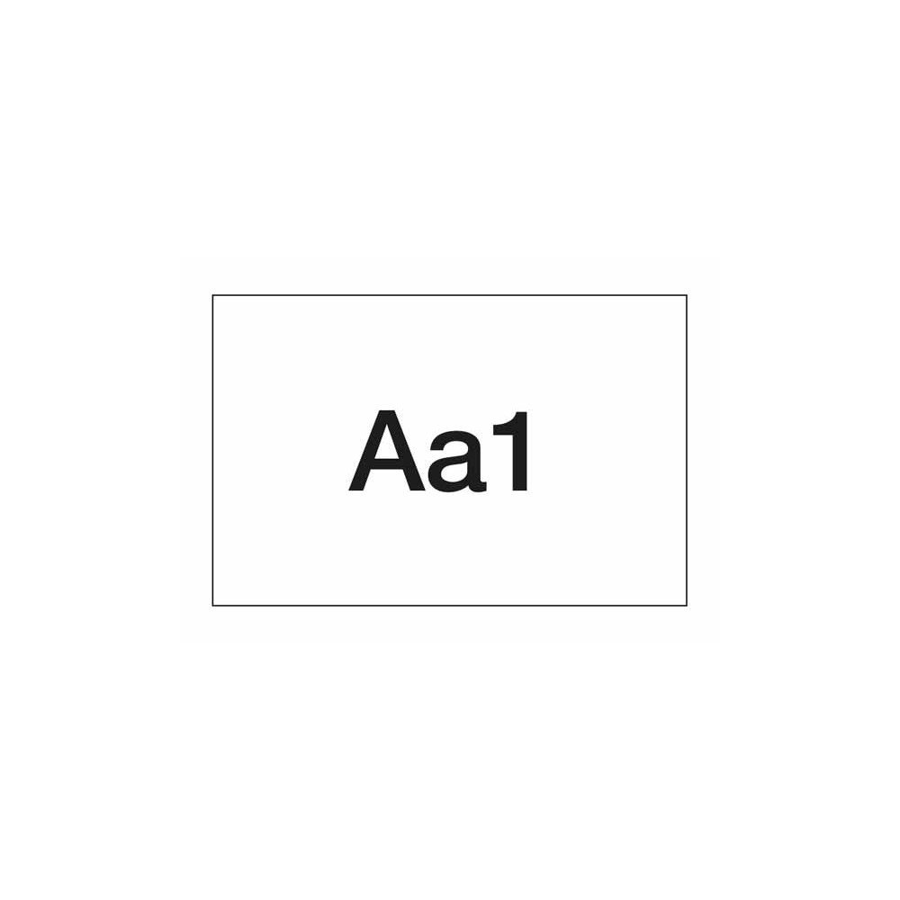 Apli 01355, Letras Negras Transferibles 4mm