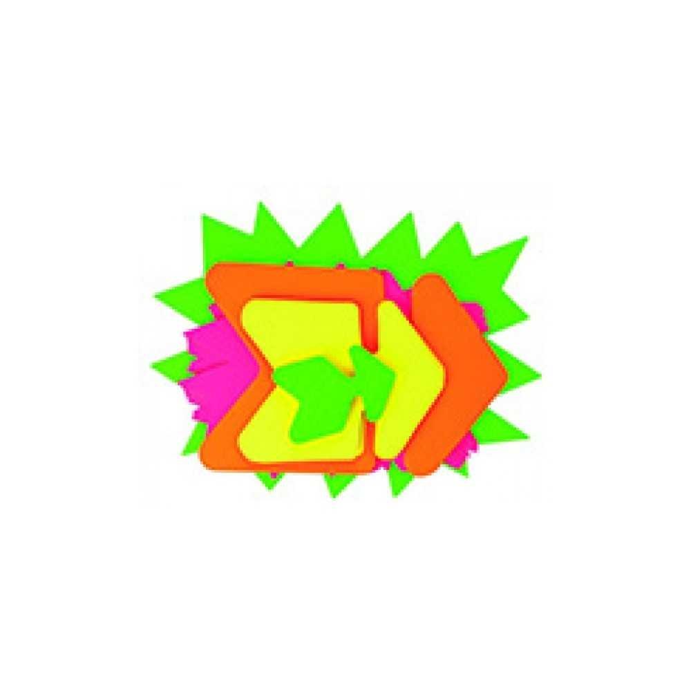 Carteles Carton Señalizacion Ofertas Formas Surtidas Apli 100452 compraetiquetas.com