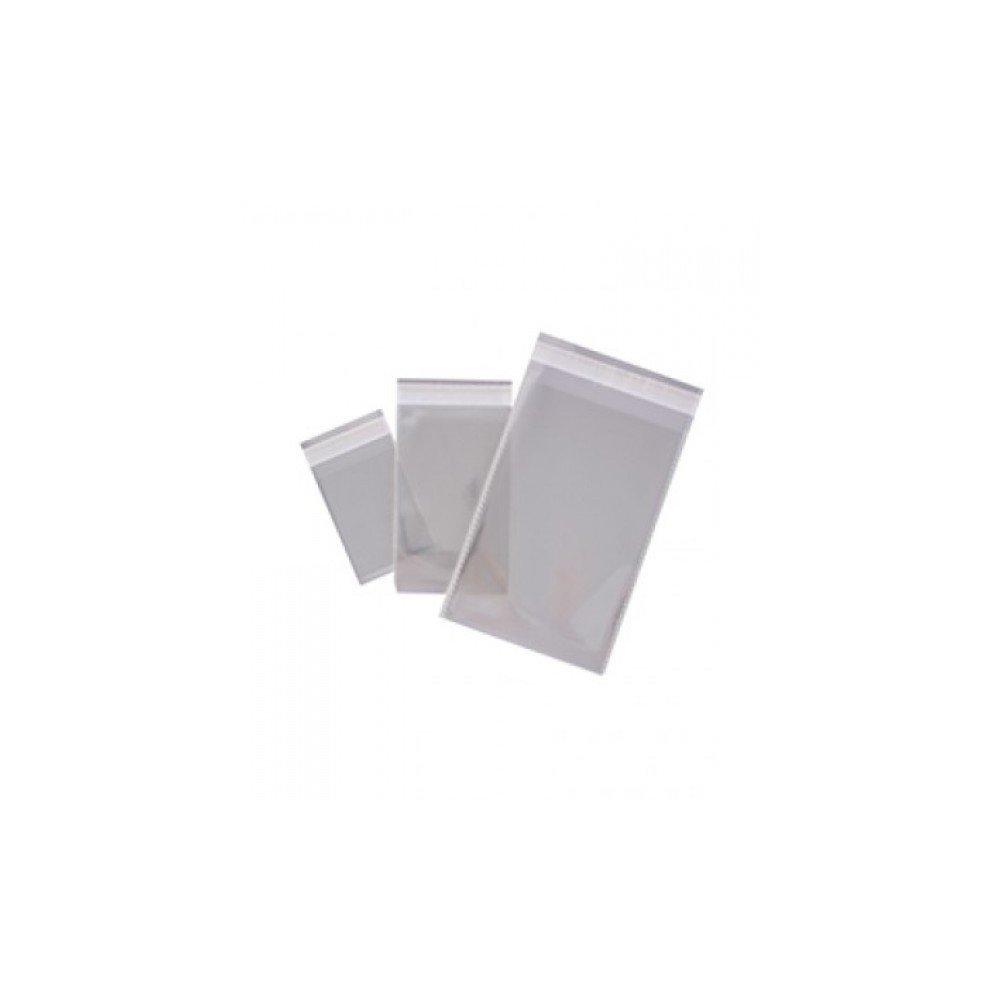 100 Bolsas transparente con autocierre adhesivo 250x330mm Apli 16222 compraetiquetas.com