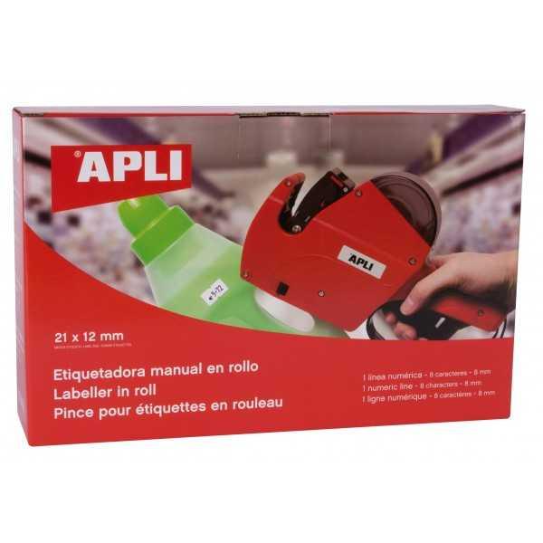 Máquina Etiquetadora. de precios en rollo Apli 101418 compraetiquetas.com