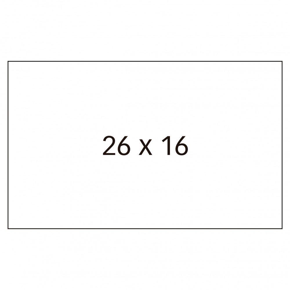 6 Rollos Etiquetas Precio 26x16mm Removibles Apli 100919 compraetiquetas.com