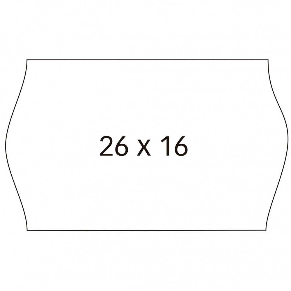 6 Rollos Etiquetas Precio 26x16mm Removible Apli 100923 compraetiquetas.com