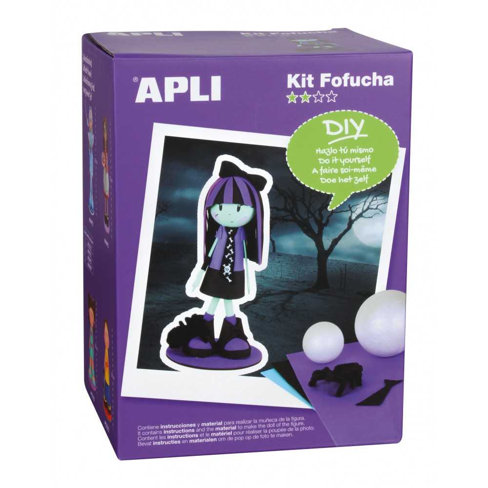 Kit Muñeca Fofucha Monster Apli 13847