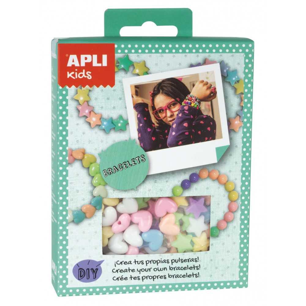 Mini Kit Crea Un Conjunto de Joyas Pastel Apli 14708 compraetiquetas.com