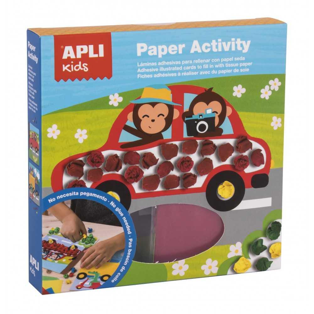 Paper Activity Transports Apli 16921 compraetiquetas.com